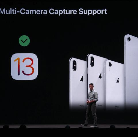 Презентация iOS 13