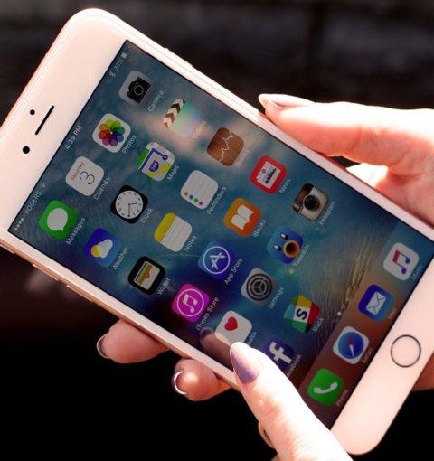 iPhone 6S Plus с iOS 9