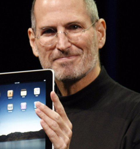 Стив Джобс и iPad