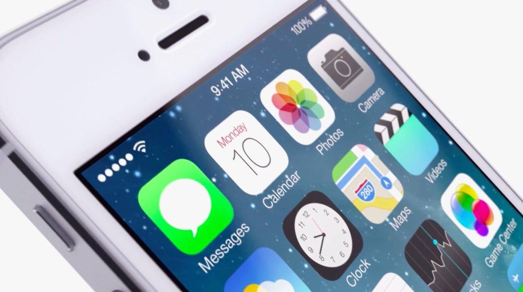iPhone 5S с iOS 7