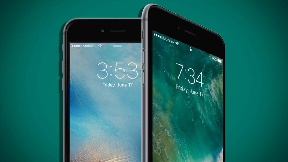Два iPhone