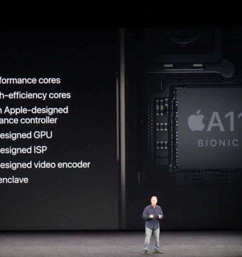 Презентация процессора Apple A11