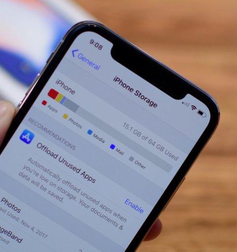 Хранилище iPhone X
