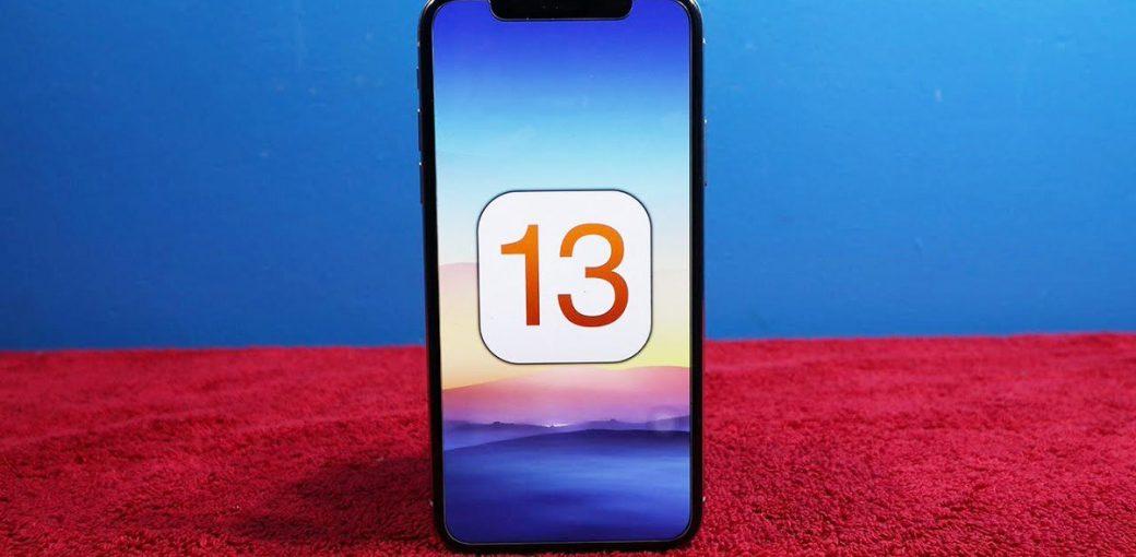 iPhone с iOS 13