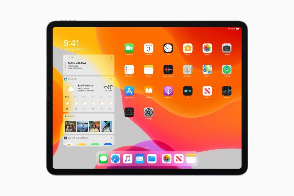 Виджеты в iPadOS 13