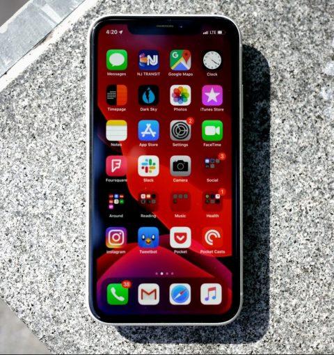iPhone XR на iOS 13
