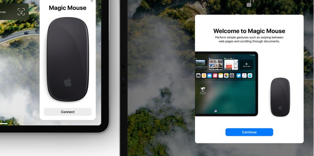 Поддержка мыши в iOS 13