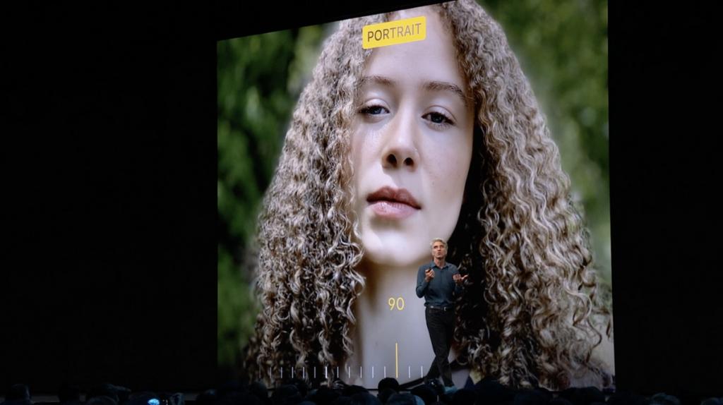 Презентация обновлённого портретного режима в iOS 13