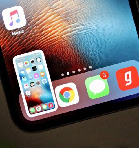 Скриншот на iPhone X