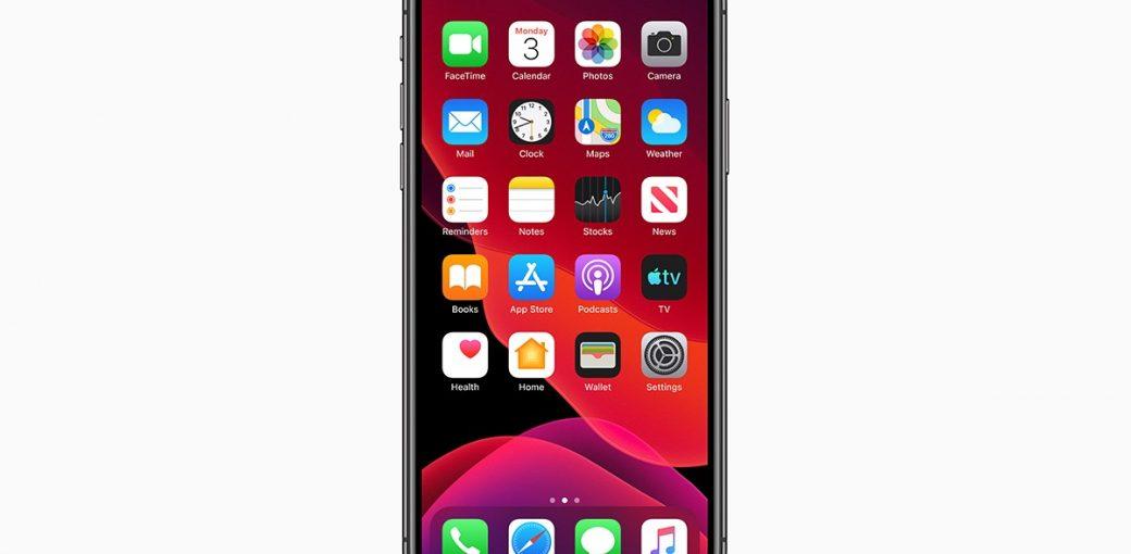 iPhone на iOS 13