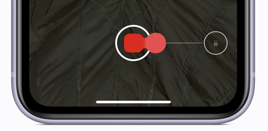 Функция QuickTake на iPhone 11