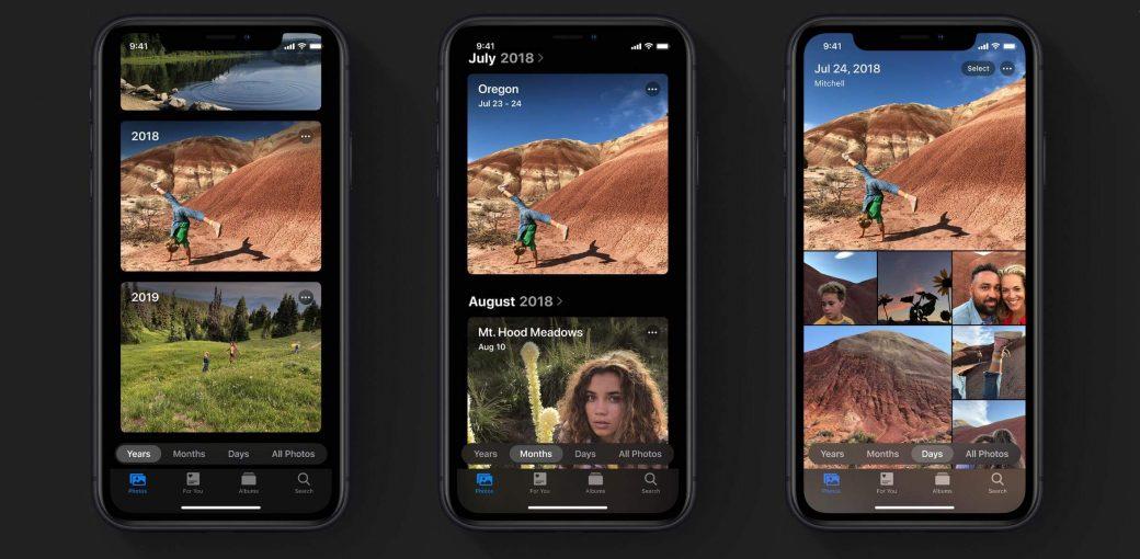 Презентация обновлённого приложения фото в iOS 13