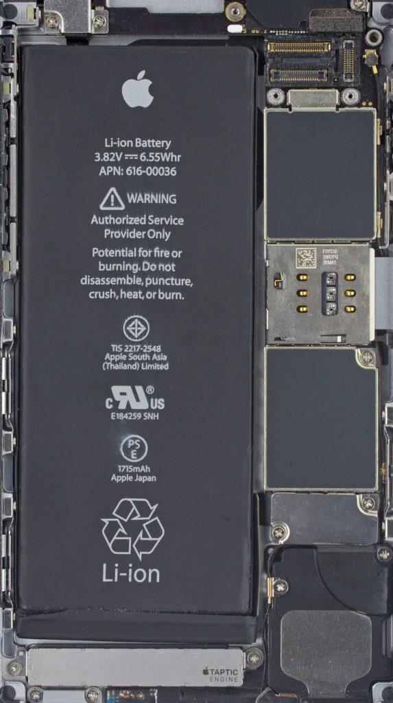 Внутренности iPhone 6s