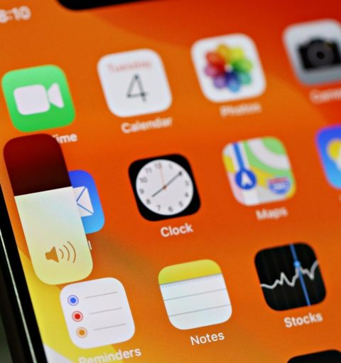 Регулировка громкости в iOS 13