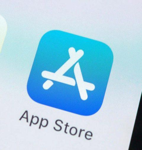 Иконка App Store на iPhone
