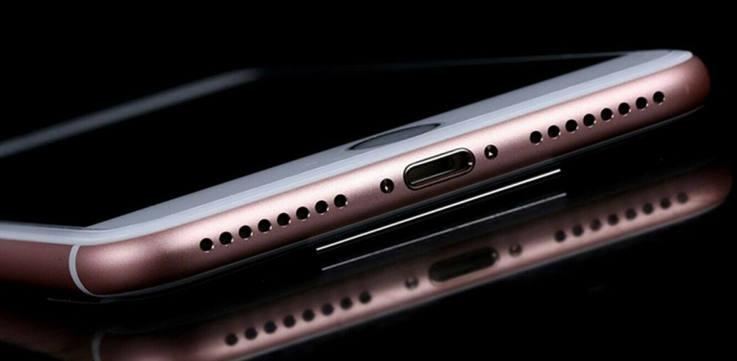 Нижняя часть iPhone 7