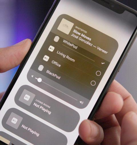 AirPlay 2 на iPhone