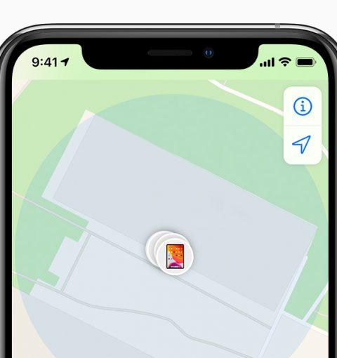 Новое приложение Локатор в iOS 13