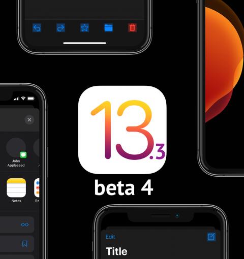 iOS 13.3 beta 4