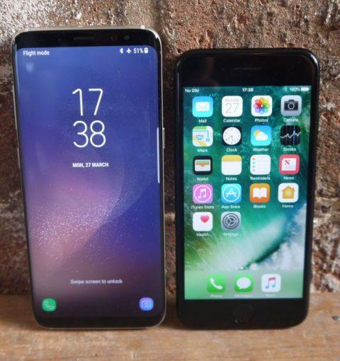 iPhone против Samsung