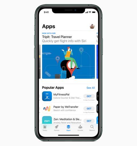App Store на iPhone