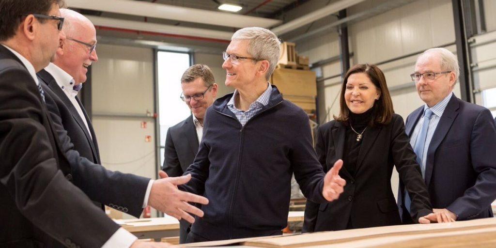 Собрание акционеров Apple