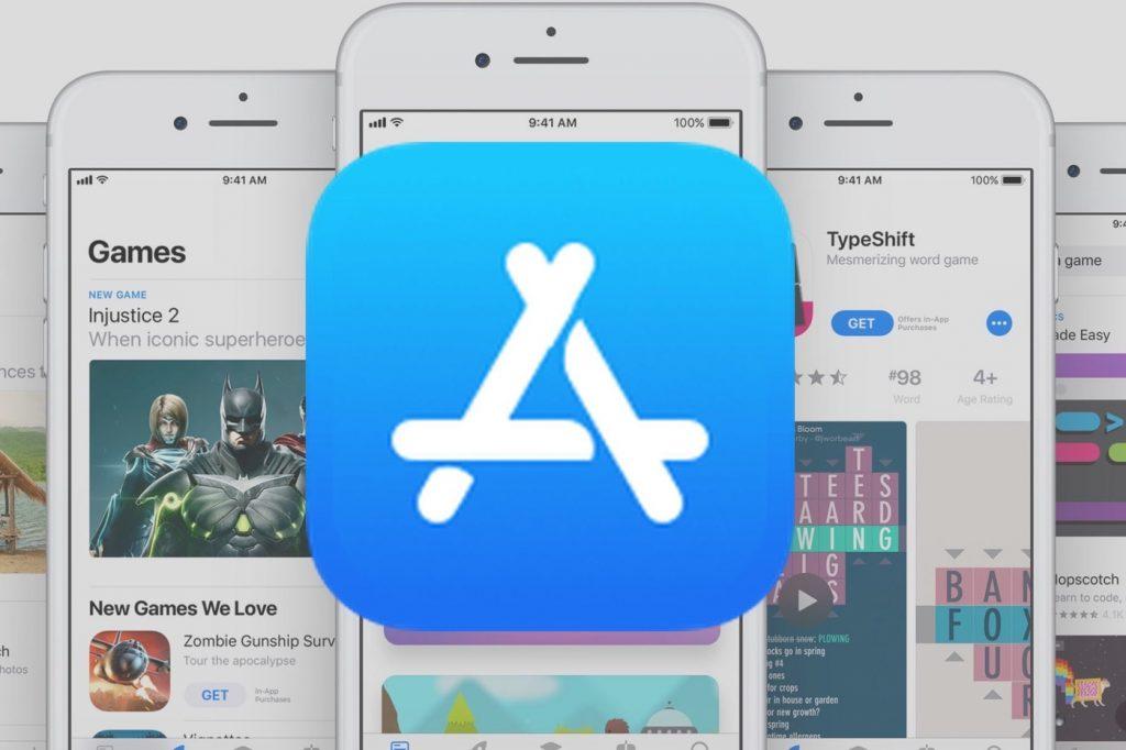 iPhone и иконка App Store