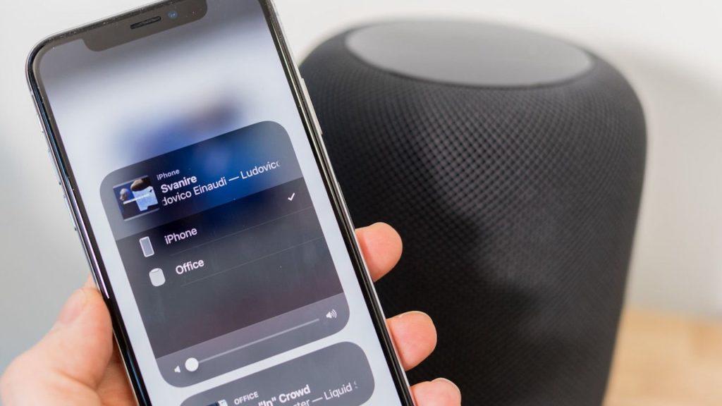 HomePod и iPhone
