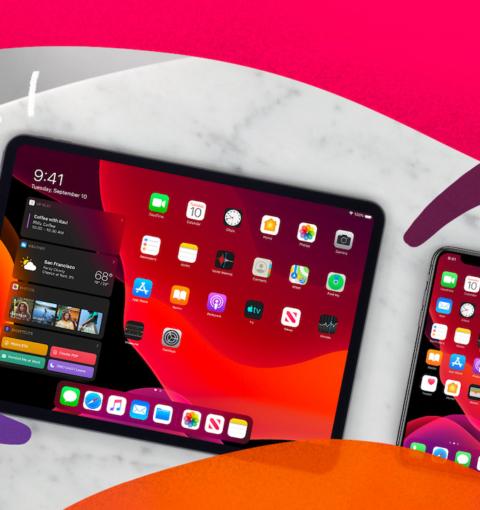 iPad и iPhone на iOS 13 и iPadOS 13