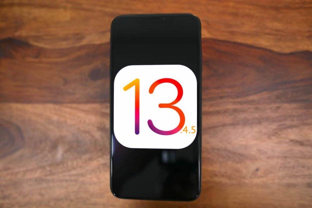 iOS 13.4.5
