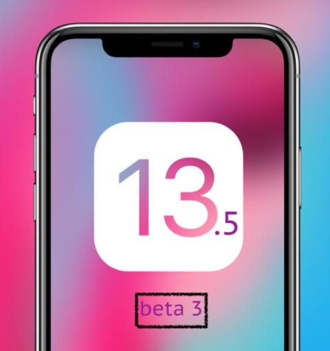 iOS 13.5 beta 3