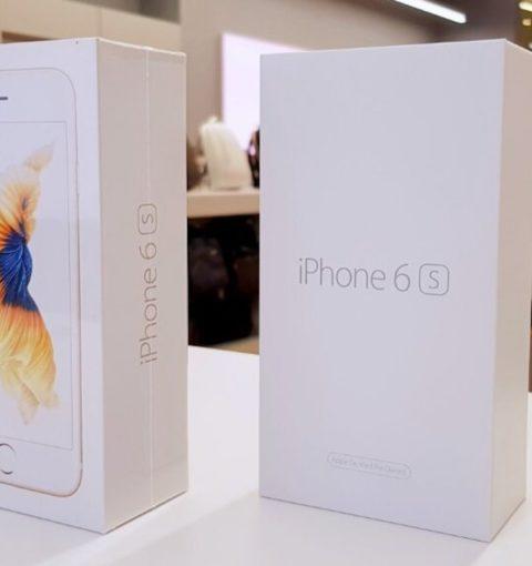 Коробки нового и восстановленного iPhone