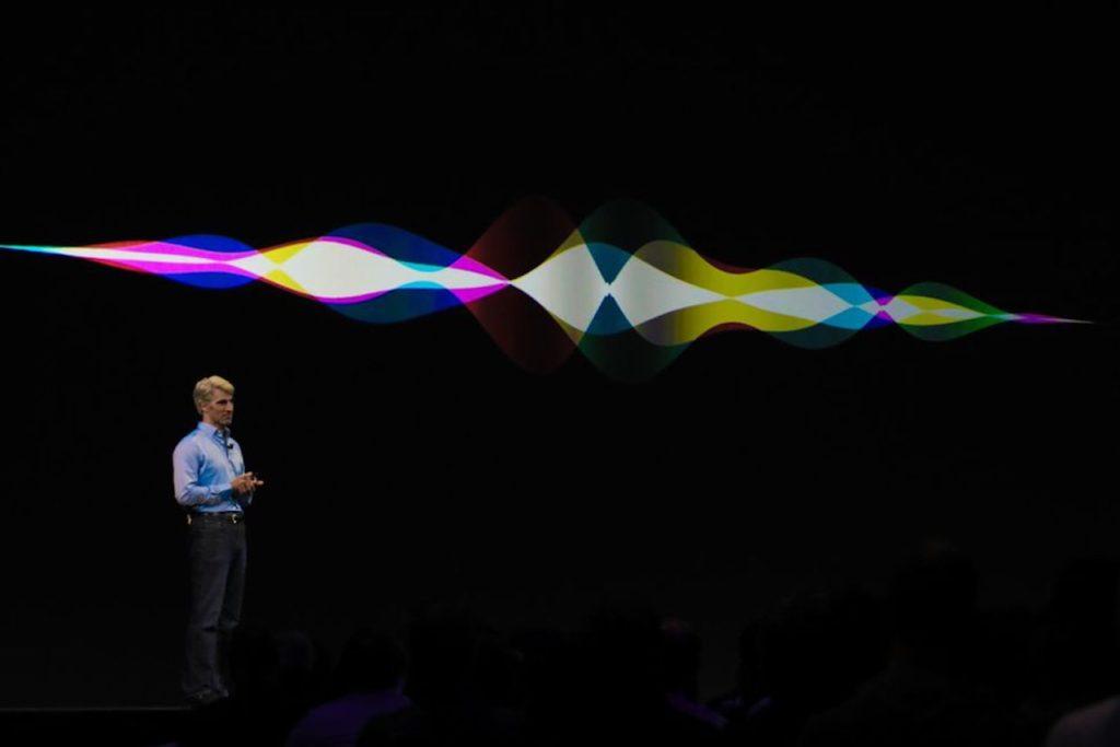 Siri на презентации Apple