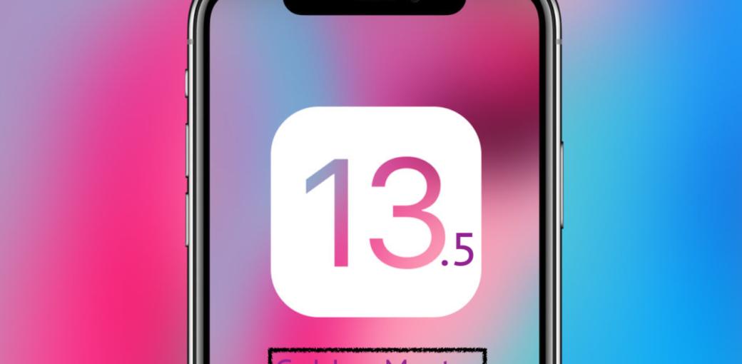 iOS 13.5 GM