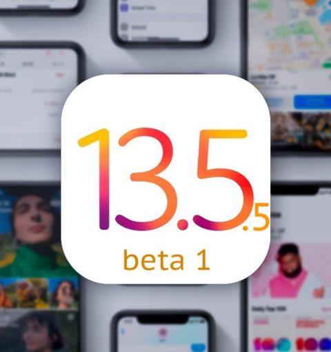 iOS 13.5.5 beta 1