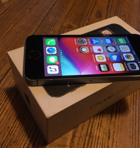 iPhone 5S на iOS 12