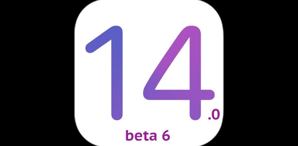 iOS 14.0 beta 6