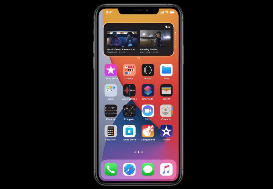 iOS 14 на iPhone