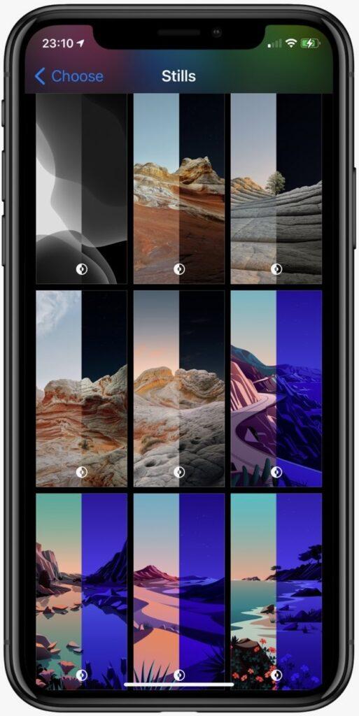 Новые обои в iOS 14.2 бета 4