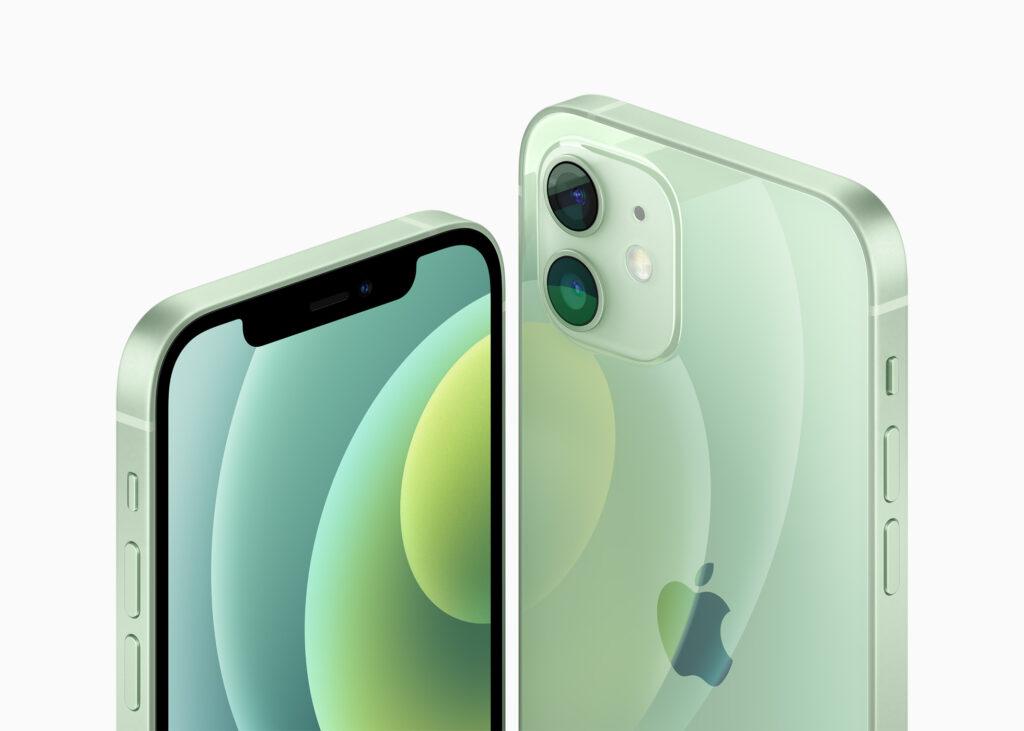 Зеленый iPhone 12