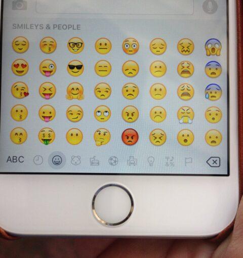 Эмодзи iOS