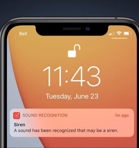 Распознавание звуков в iOS 14