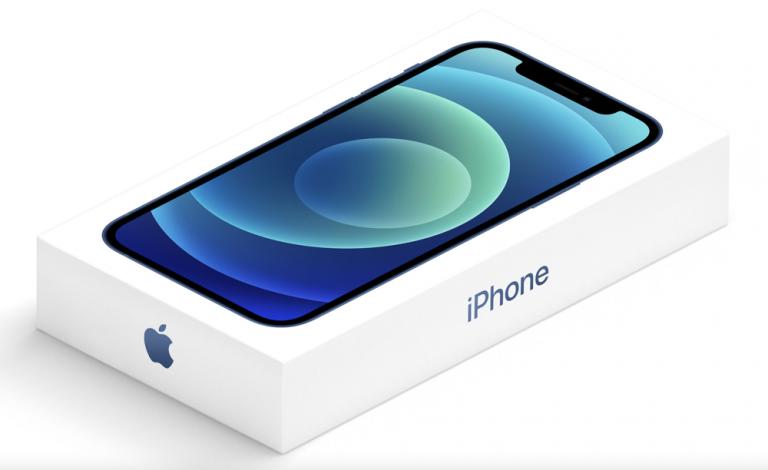 Предположительно коробка новых iPhone