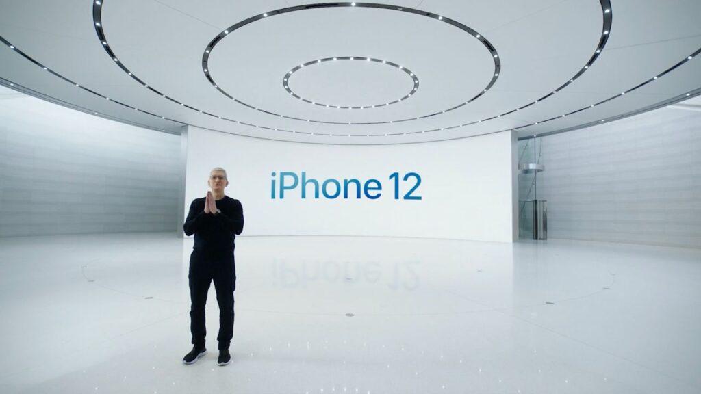 Тим Кук представляет iPhone 12