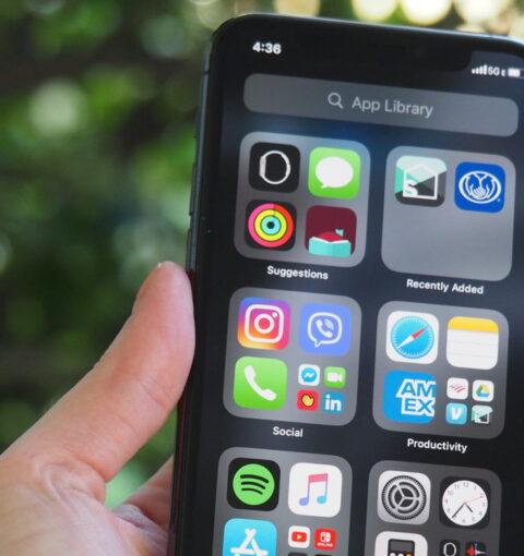 iPhone 12 на iOS 14