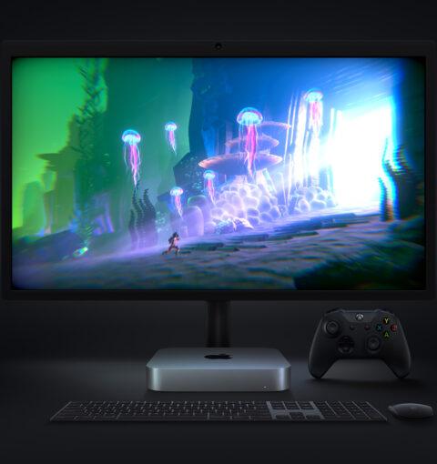 Mac mini 2020 на Apple M1