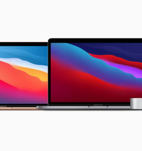 Продукты представленные Apple в ноябре 2020 года