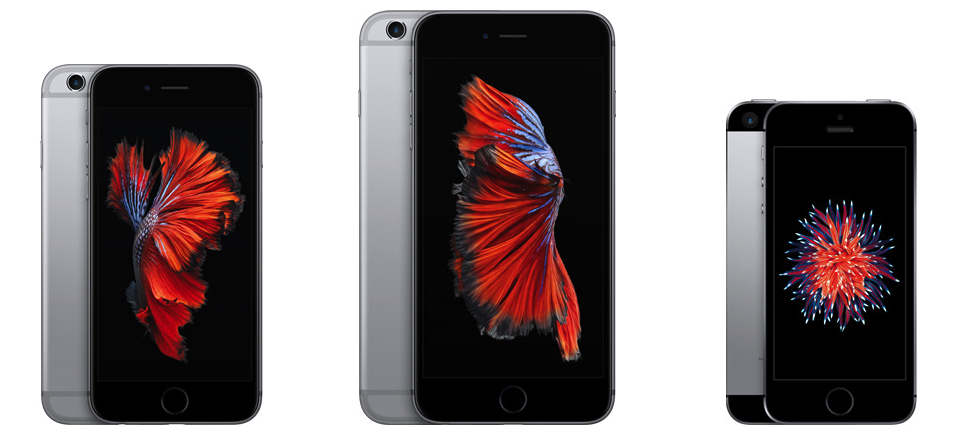 iPhone 6S, iPhone 6S Plus и iPhone SE 1 – го поколения