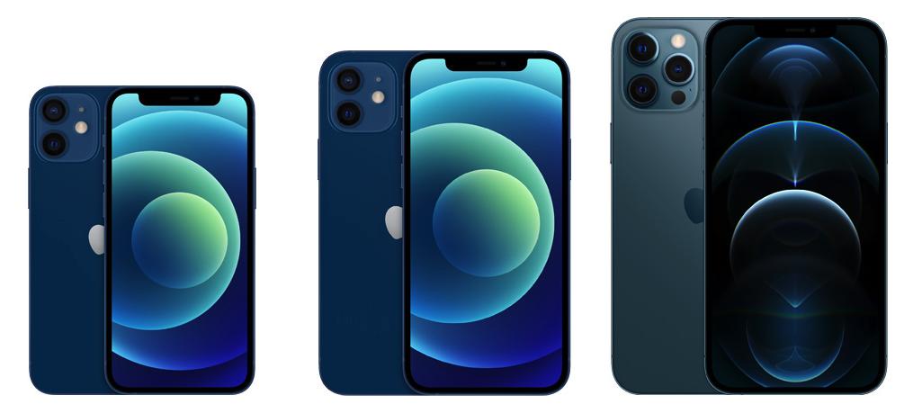 iPhone 12 Mini, iPhone 12 и iPhone 12 Pro Max