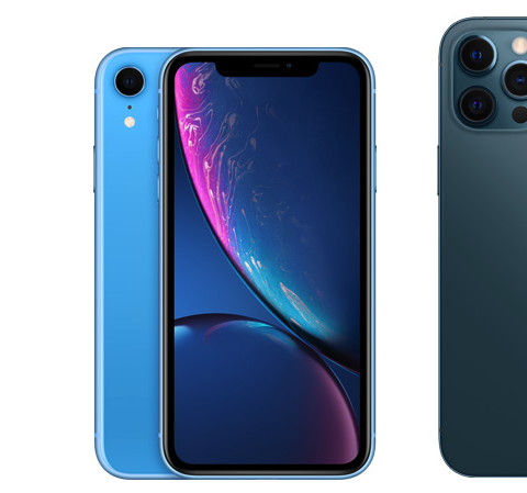 iPhone 7, iPhone XR и iPhone 12 Pro Max